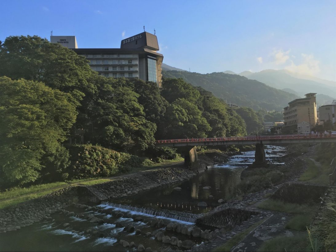 Haya River from Hakone Yumoto Station by Lisa Cheung