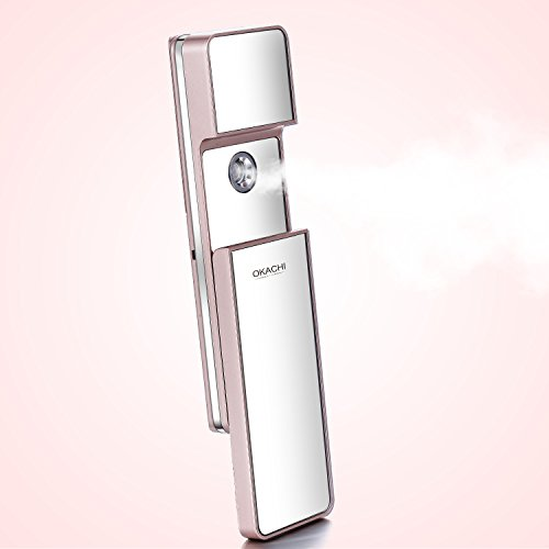 Okachi Gliya Nano Mist Sprayer With Makeup Mirror