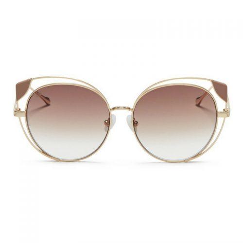 For Art's Sake 'Skylar' Cutout Metal Mirror Cat Eye Sunglasses