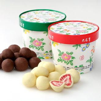 Rokkatei Strawberry Chocolate Set