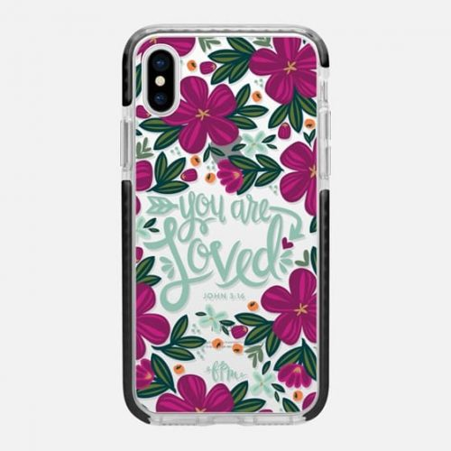Casetify 'You Are Loved'iPhone x cases