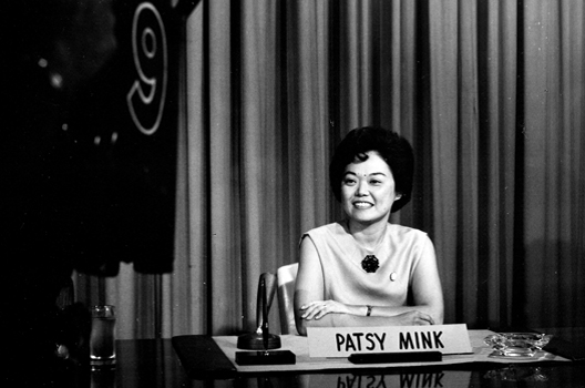 Patsy Mink, the first Asian-American US Congresswoman.