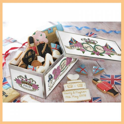 Biscuiteers Royal Wedding Luxe Biscuit Tin