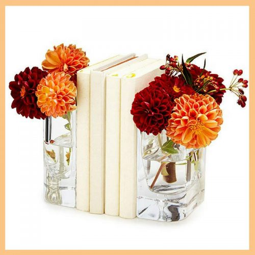 Vase bookends