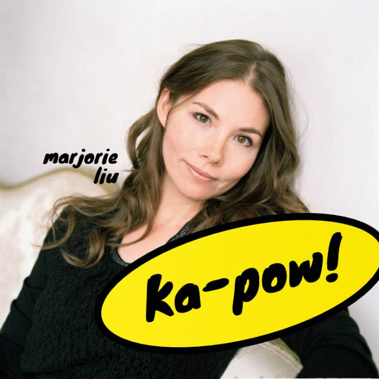 Marjorie Liu delivers a knock-out and wins Eisner Award for Best Writer