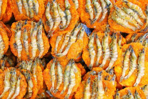 Isso Vadai at Galle Face Green street food by Nathan Mahendra