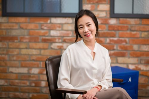 "Jungeun You is a Seoulite and the CEO of ""Mabo"", the first guided mindfulness meditation app in Korea"