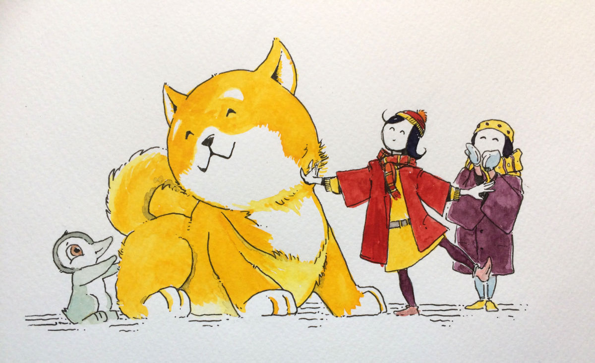 As the Year of the Dog comes upon us, we all wish you a very happy and fun and successful year!