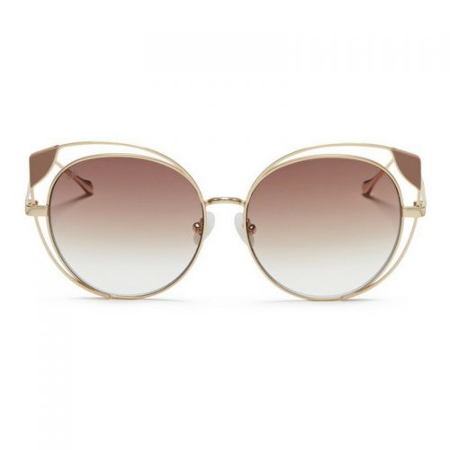 For Art's Sake 'Skylar' Cutout Metal Mirror Cat Eye Sunglasses