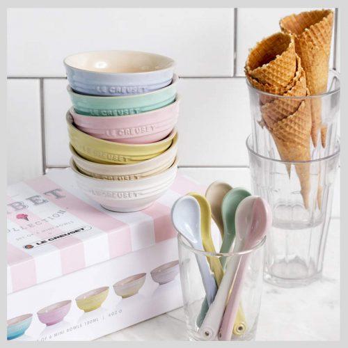 Le Creuset Sorbet Collection Mini Bowls Set