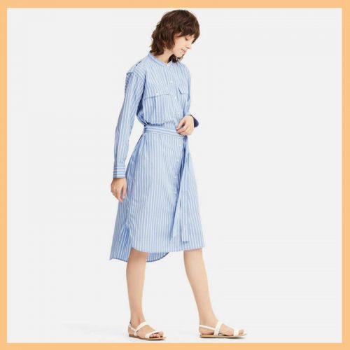 Uniqlo x J.W. Anderson Cotton Shirt Dress