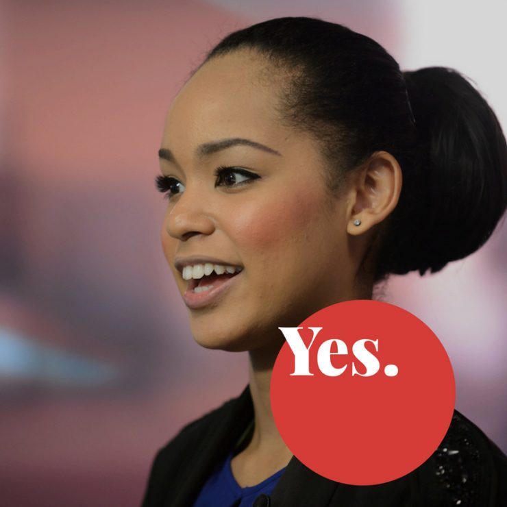 Not hafu, 100% Japanese Ariana Miyamoto