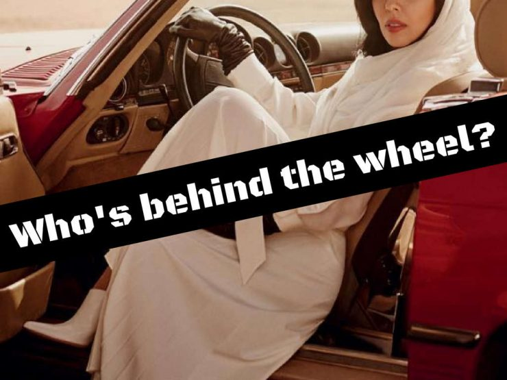 Women getting to drive in Saudi Arabia