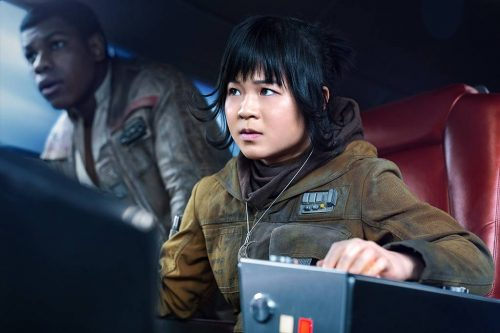 Kelly Marie Tran in the Last Jedi