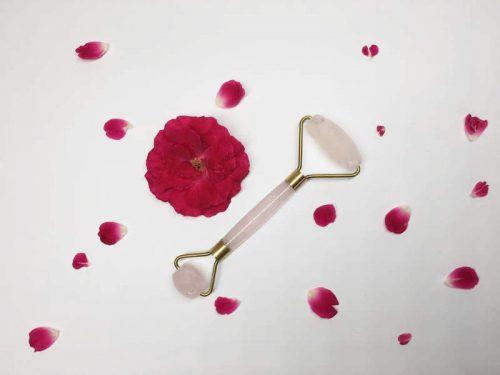 Speak Skin Rose Quartz Roller
