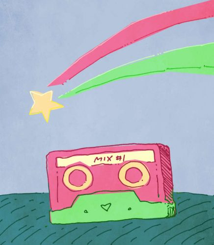 Shooting stars and mix tapes make for romance