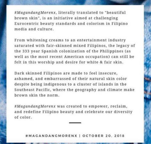 Asia's Magandan Morenex manifesto