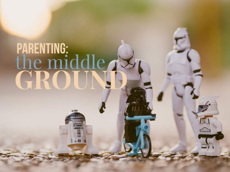 Parenting in the middle ground between Asian and Western traditions