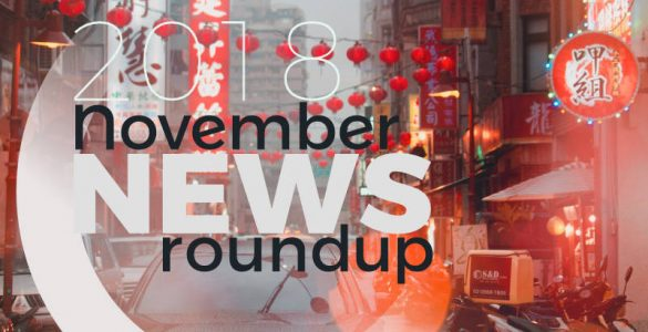 2018 november news roundup - photo source: Andre Haimerl, Unsplash