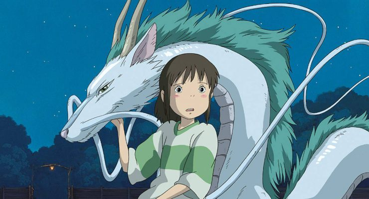 Spirited Away Chihiro and the Dragon