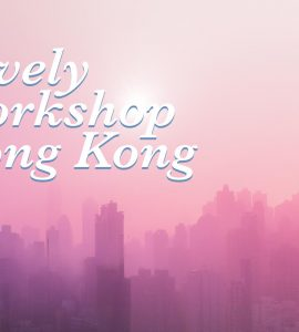 A lovely workshop in Hong Kong